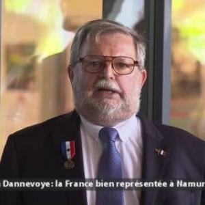 """Dominique Bazelaire, Consul honoraire de France emerite, decore, le 13 juillet (c) """"Canal C"""""""