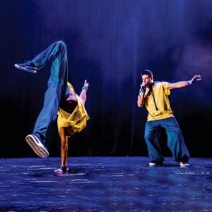 """""""Musicality is the Key"""", spectacle melant """"beatbox"""", danse et jonglerie (c) J.-M. Schneider"""