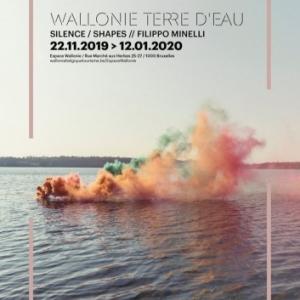 """Silence/Shapes"", Filippo Minelli, à l' ""Espace Wallonie"""
