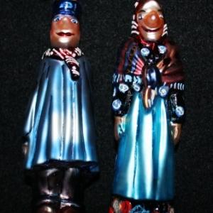 « Tchantchès » & « Nanesse » en Verre soufflé