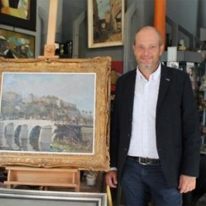 """Eric Joly, """"Prix du Commercant namurois"""""""
