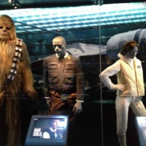 """Chewbacca "", ""Han Solo"" & ""Princesse Leia"" TM (c) 2014 Lucasfilm Ltd."