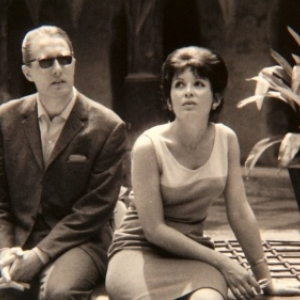 Evelyne Axell et son mari, Jean Antoine, l un des pionniers de la television belge