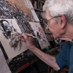 Rene Follet, reserve et modeste, l un des grands de la bande dessinee franco-belge
