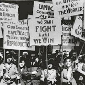 Manifestation aux Etats-Unis, dans les annees '60