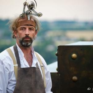 """Geoffrey Seron, co-fondateur et co-gestionnaire du """"Theatre Jardin Passion"""" (c) Marc Antoine"""