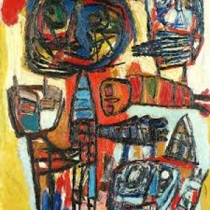 « Mexicain » (1953) (c) Karel Appel (c) Ville de Liege-Sabam 201