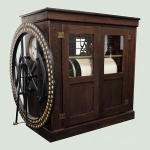 """Pointeuse à cadran international 'Watson Business Machine' "" (c) ""Computer Museum NAM-IP"""