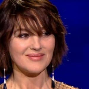 """Monica Bellucci, laureate du """"Magritte d Honneur"""" (c) """"RTBF"""""""