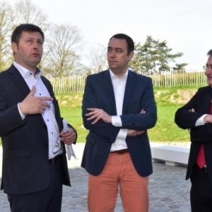 """A. Gavroy, M. Prevot & R. Collin, trois Defenseurs de la Nature et du """"FINN""""  (c) """"La Capitale"""""""