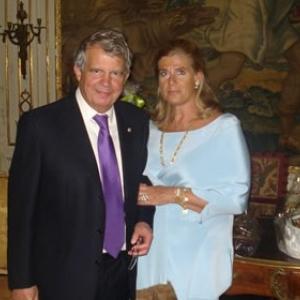 Le Prince Alexandre et la Princesse Lea (c) Archives de la Princesse Lea