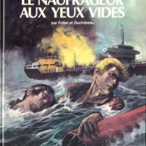"""Couverture du 10e tome de """"Jean Valhardi"""", dessinee par (c) Rene Follet/Ed. """"Dupuis"""", 1984"""
