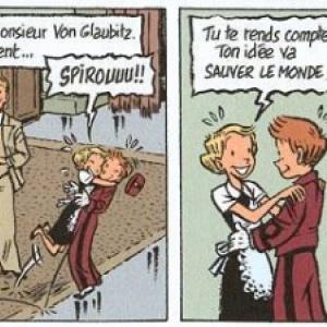 """Spirou ou l'Espoir malgre tout"" (c) Emile Bravo/""Dupuis"""