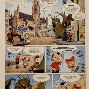 """Le Reboutant Rebouteux"" (c) Jean-Marc Krings & ""Zidrou"""