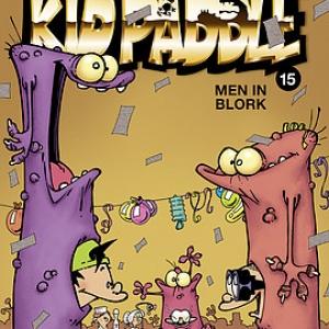 """Dernier Album de """"Kid Paddle"""" (c) """"Midam""""/""""Mad Fabrik"""""""