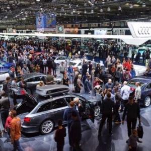 """En 2018, en visite du """"Brussels Motor Show"""""""