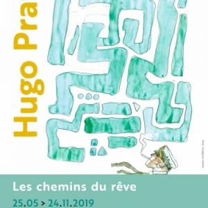 """""""Hugo Pratt, les Chemins du Rêve"""", à la """"Fondation Folon"""""""