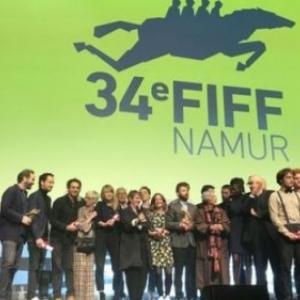 """Au """"Delta"""", acteurs et realisateurs sur la scene de la Ceremonie des """"Bayards"""" (c) """"RTBF"""""""