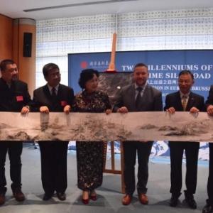 "Le ""China Arts Festival in the European Union"", au Parlement Europeen, le 08 Octobre 2018"
