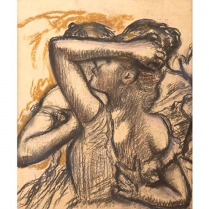 "Un joli pastel de (c) Edgar Degas/""Bailly Gallery"""