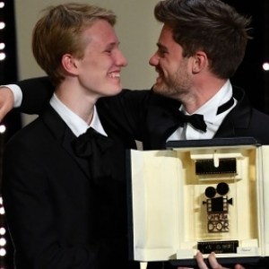 "Luka Dhont et Victor Polster (c) Alberto Pizzoli/""AFP"""