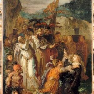 """""""Hamlet"""", Gustave Moreau, 1850"""
