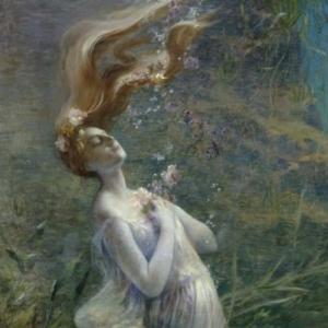 """Ophelie"", Paul Steck, 1894"