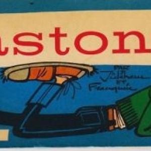 """1er Album de Gaston, en 1960 (c) """"Andre Franquin""""/""""Dupuis"""""""