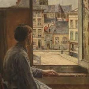 """Henri De Braekeleer (1840-1888) Fenetre ouverte sur la Modernite"" (c) ""Musee Felicien Rops"""