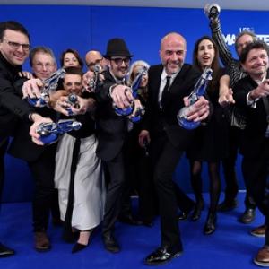 """Les 9 """"Magritte du Cinema"""" de """"Duelles"""" (c) Didier Lebrun/""""Photonews"""""""