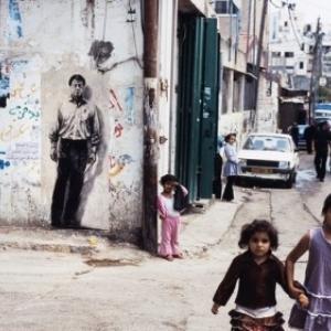 """""""Mahmoud Darwich""""/2009, a Ramallah, en Palestine (c) Ernest Pignon-Ernest"""