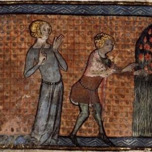 """""""Le Roman de la Rose""""/vers1355 (c) """"Bibliotheque Ste.-Genevieve""""/Paris"""
