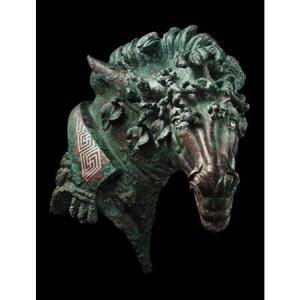 """Tete de cheval de style hellenistique (c) """"David Aaron Gallery"""""""