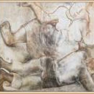 """""""Les Epoux"""" (1932) (c) Constant Permeke (c) Ville de Liege"""