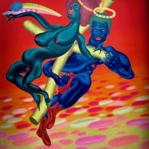 """Angela and Ali"" (1971) (c) Peter Saul/""Artist s Rights Society"", New York"