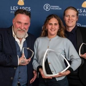 """Avec Bouli Lanners, en 2019, 4 Prix au (c) """"Les Arcs Film Festival"""", pour """"C est ca l Amour"""" (Claire Burger)"""