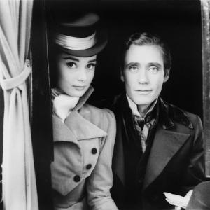 """Guerre et Paix"" : Audrey Hepburn et Mel Ferrer"