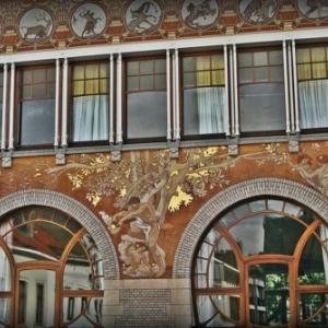 """Hotel Albert Ciamberlani"", de Paul Hankar (1859-1901), residence de l Ambassadeur d Argentine (c) ""Explore Brussels"""