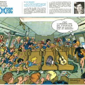 """""""C est la derniere fois que j accepte de faire un charter pour un jamboree !"""" (c) Walthery/""""Oufti"""""""