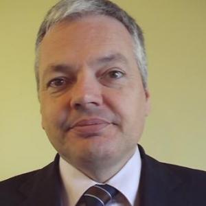 Ministre des finances Didier Reynders.