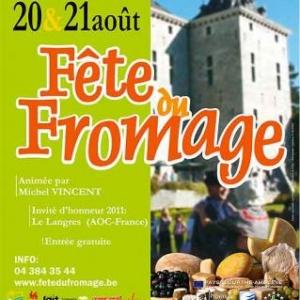 Les Fromages de Wallonie en fete au Chateau de Harze