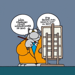 GELUCK EXPOSE LE CHAT