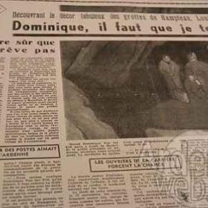 en 1962 la presse parle de Dominique Van der Elst