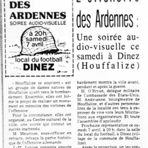 reportage avril 1984. Avenir de Luxembourg