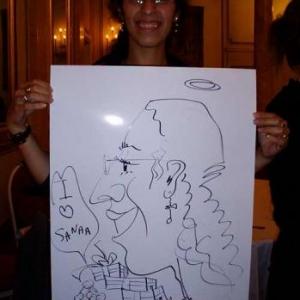 Caricature, chercheur,bruxelles, 30048