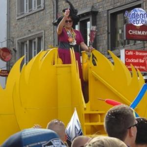 Carnavaltafalisia , Valou Manitou,Valerie Kremer, reine du Carnaval du soleil.