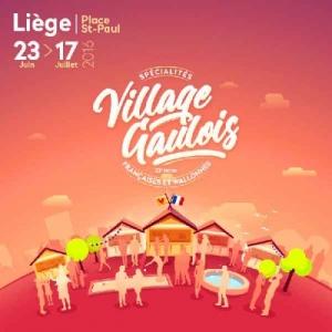 Un Village GAULOIS au cœur de la ville de LIEGE