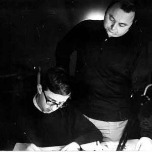 en 1968 Christian Jacot 18 ans travaillant dans sa jeunesse chez Jean Graton