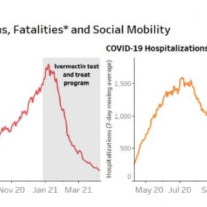 Le résultat a été immédiat, et spectaculaire sur le nombre de morts (à gauche) ou d'hospitalisations (à droite) :