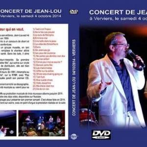 DVD du concert en vente chez Jean-Lou